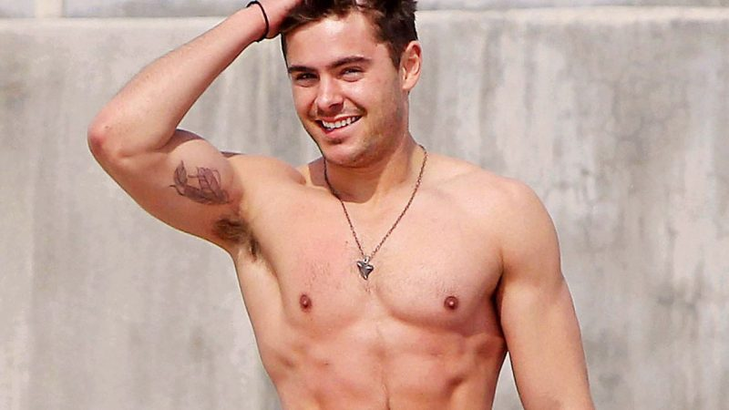Zac Efron Nude Scandal Leaks & Sex Scenes Collection