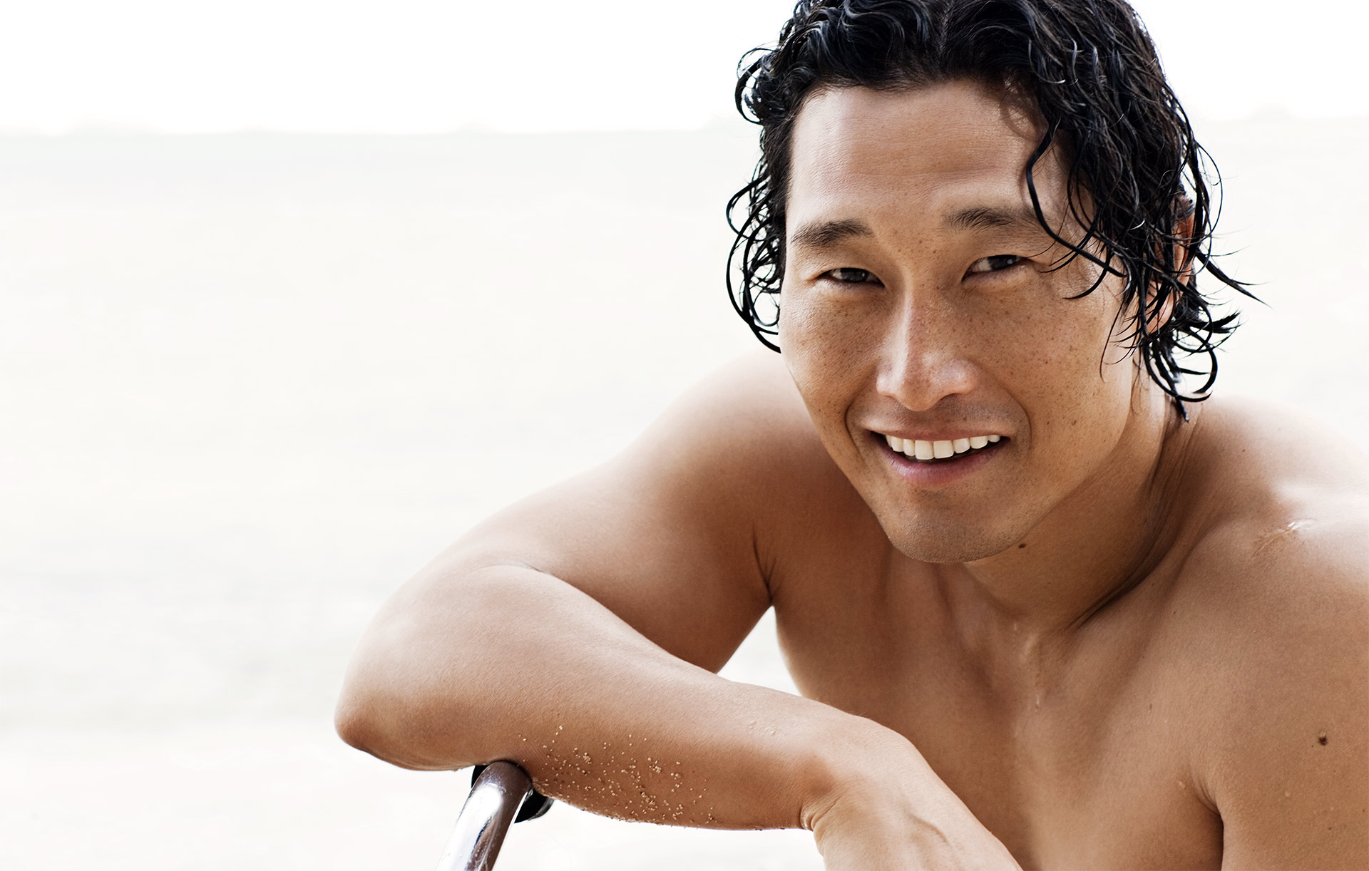 Daniel Dae Kim Nude And Sexy Underwear Collection