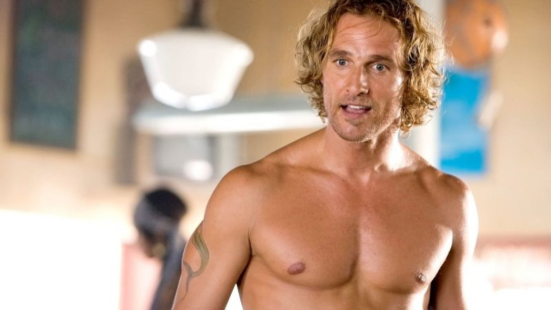 Matthew McConaughey Nude Cock While Pee & Sex Scenes