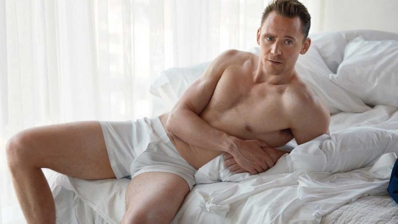 Tom Hiddleston Frontal Nude & Huge Bulge Shots