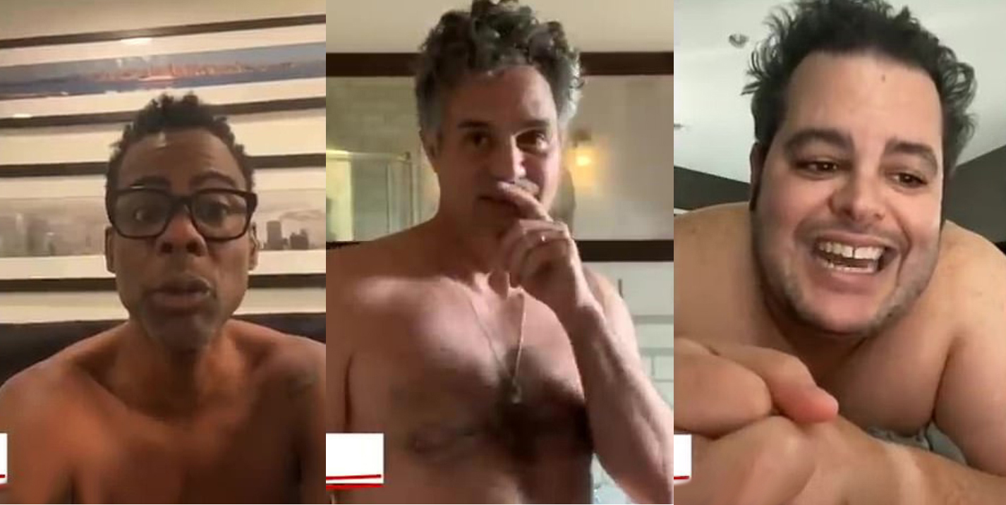 Chris Rock, Mark Ruffalo, Josh Gad and other naked stars made the hottest public service advertising on mail-in ballots!