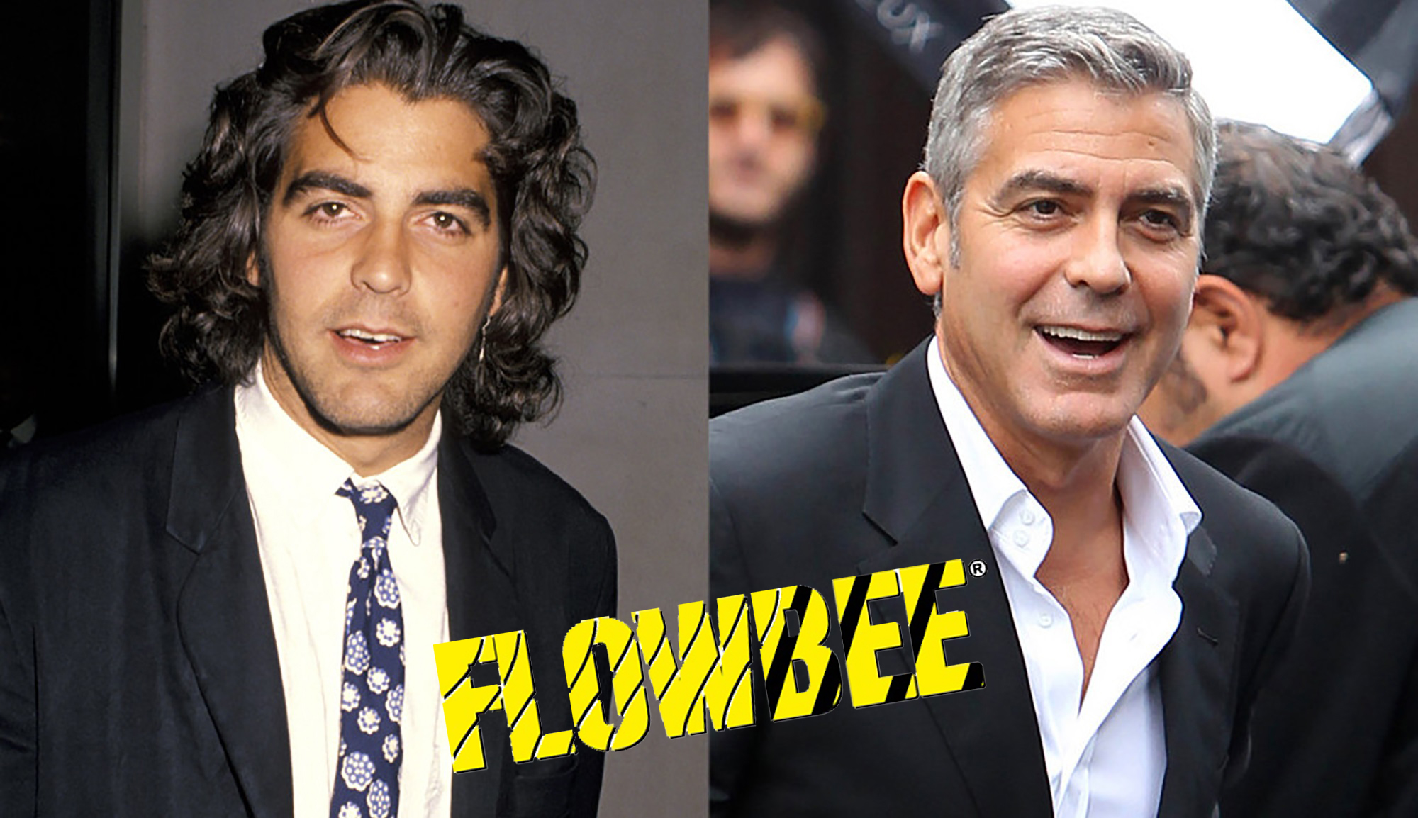 Shock! Does George Clooney cut his own hair with Flowbee?