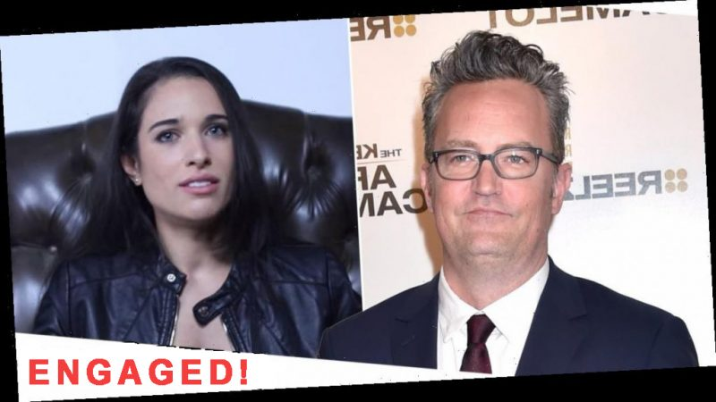 Get Ready For A Stellar Wedding – Matthew Perry And Molly Hurwitz Are Engaged!