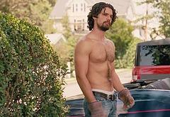 Steven Strait shirtless movie scenes