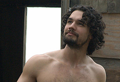 Steven Strait shirtless outdoors
