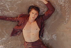Jacob Elordi shirtless