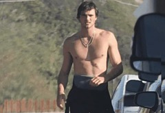 Jacob Elordi nude outdoors