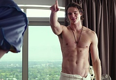 Jacob Elordi shirtless movie scenes