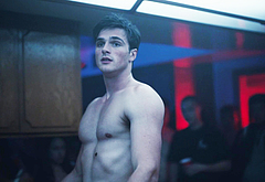 Jacob Elordi shirtless video
