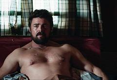 Karl Urban shirtless movie scenes