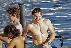Tom Holland frontal nude