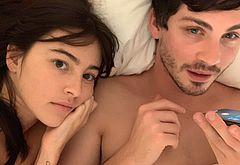 Logan Lerman leaked sex tape