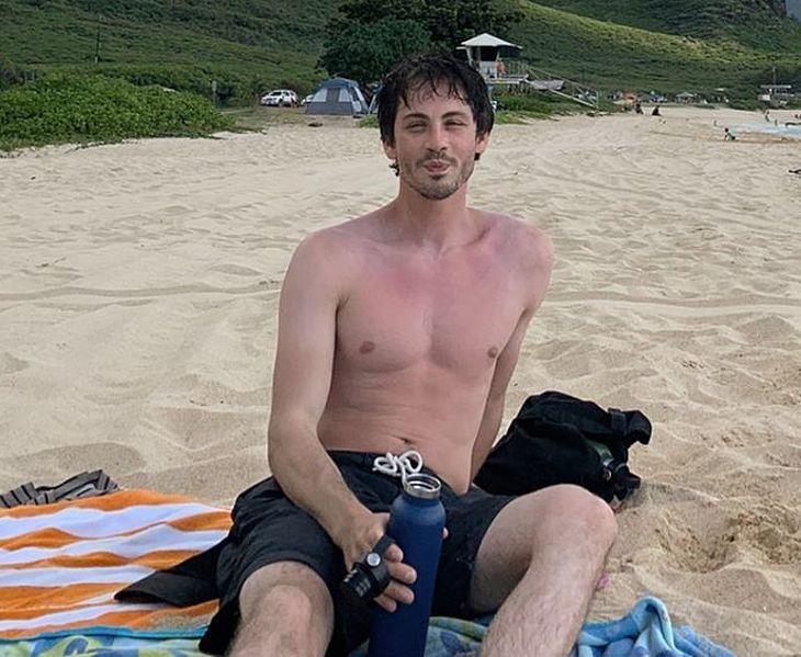 Logan Lerman private shirtless pics