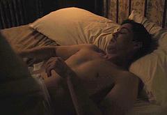 Logan Lerman sex scenes