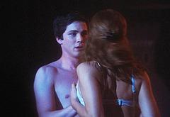 Logan Lerman shirtless movie scenes