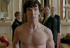 Benedict Cumberbatch shirtless movie scenes