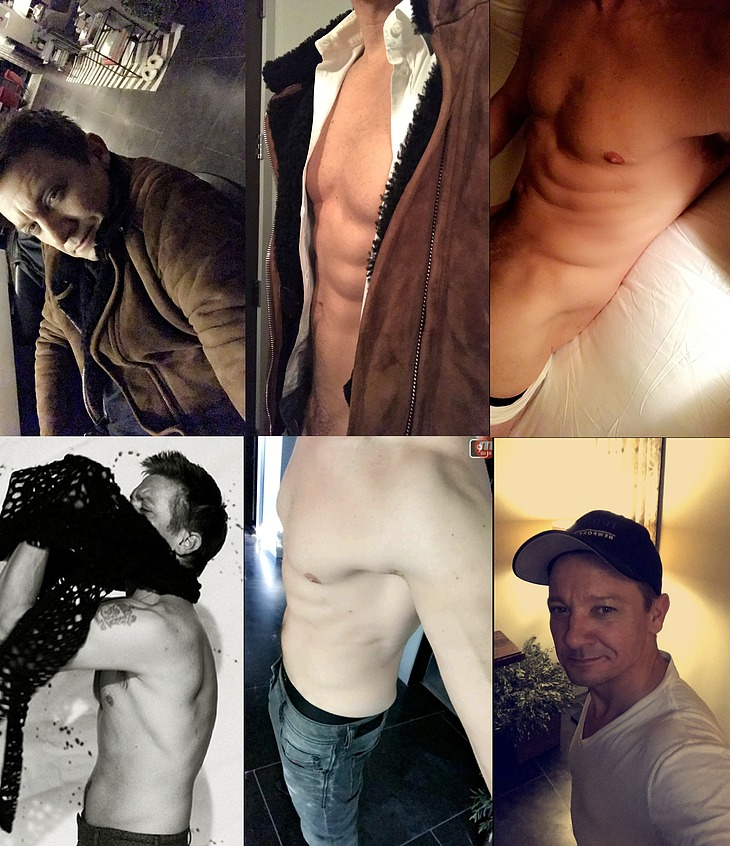 Jeremy Renner nude penis pics