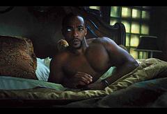 Anthony Mackie shirtless movie scenes