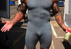 Dave Bautista naked oops