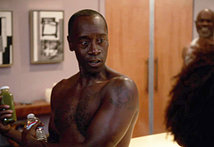 Don Cheadle shirtless movie scenes