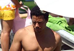 Terrence Howard shirtless photos