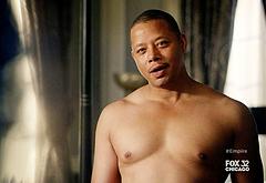 Terrence Howard shirtless video