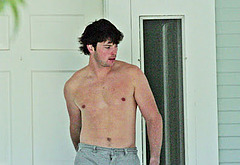 Tom Welling naked outdoors
