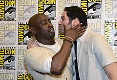DB Woodside gay kiss