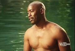 DB Woodside shirtless video