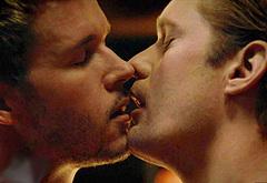 Ryan Kwanten gay kiss