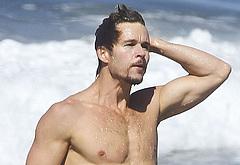 Ryan Kwanten nude beach photos