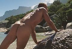 Alan Ritchson nude movie scenes