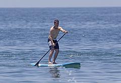 Tom Cruise beach photos