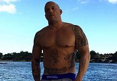 Vin Diesel bulge