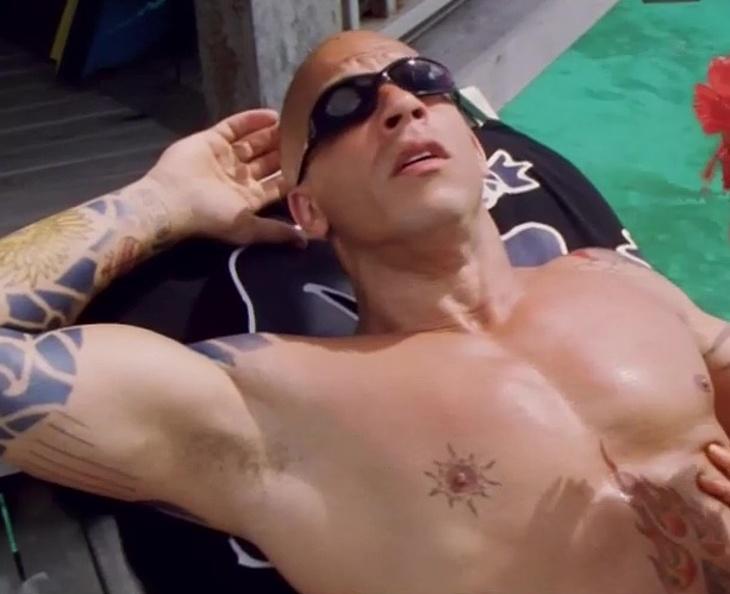 Vin Diesel nude sex movie