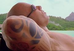 Vin Diesel shirtless movie scenes