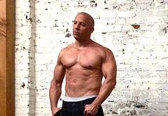 Vin Diesel nude shots