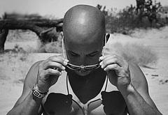 Vin Diesel shirtless photoshoots