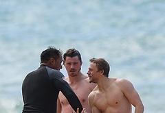 Garrett Hedlund naked beach photos