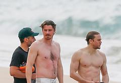 Garrett Hedlund shirtless