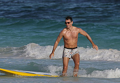 Jerry O'Connell beach photos