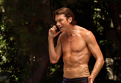 Jerry O'Connell shirtless movie scenes