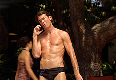 Jerry O'Connell shirtless video