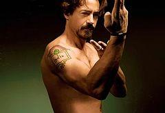 Robert Downey Jr bulge