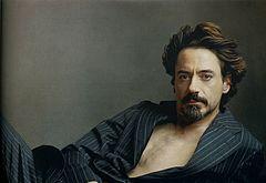 Robert Downey Jr oops