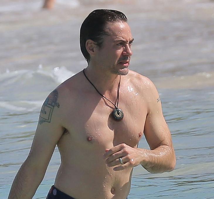 Robert Downey Jr hacked nude