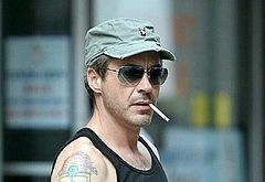 Robert Downey Jr outdoors photos