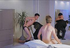 Robert Downey Jr frontal nude video