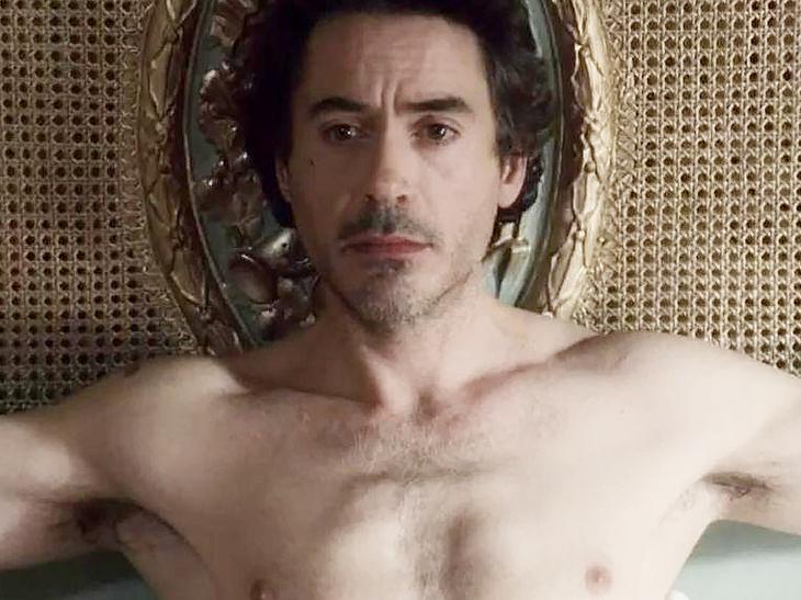Robert Downey Jr gay penis nude