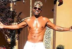 Shemar Moore shirtless leaks